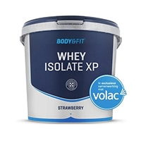 Body & Fit whey isolate xp 4000 gram