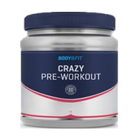 body & fit crazy pre-workout