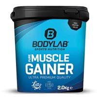 bodylab pure muscle gainer