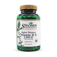 swanson vitamine d3 2000iu